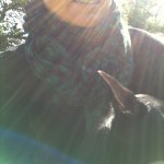 Prita and Puppy in the Zonnen SHinen..