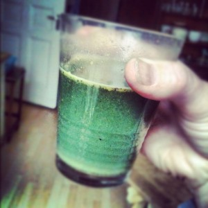 super green powder drink..