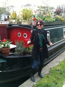 me and a houseboat England..