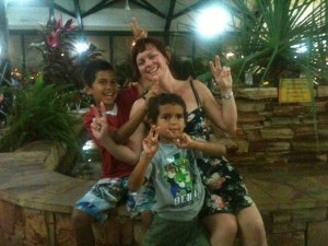 Prita & Nephews Keegan & Taj in Broome