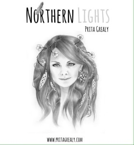 Northern Lights tote bag & tshirt design