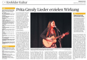 Live Concert Review in Krefeld by Mojo Mendiola